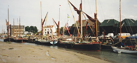 The quay at Faversham